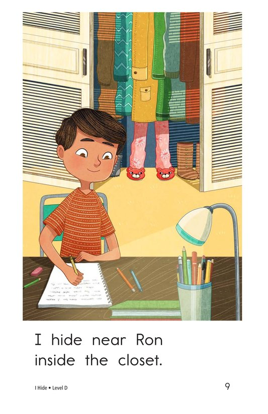 Book Preview For I Hide Page 9