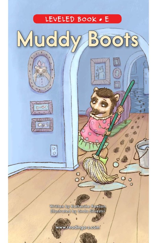 Book Preview For Muddy Boots Page 0