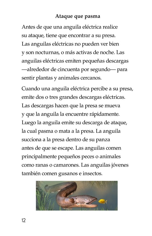 Book Preview For Electric Eels! Page 12