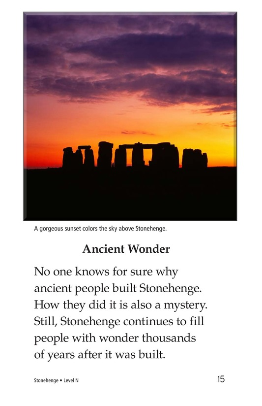Book Preview For Stonehenge Page 15