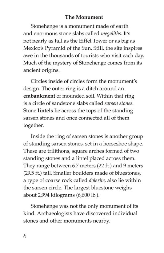 Book Preview For Stonehenge Page 6