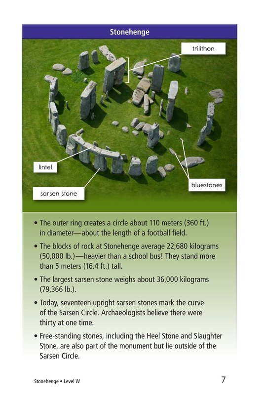 Book Preview For Stonehenge Page 7