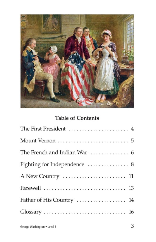 Book Preview For George Washington Page 3