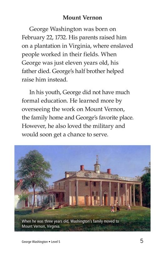 Book Preview For George Washington Page 5