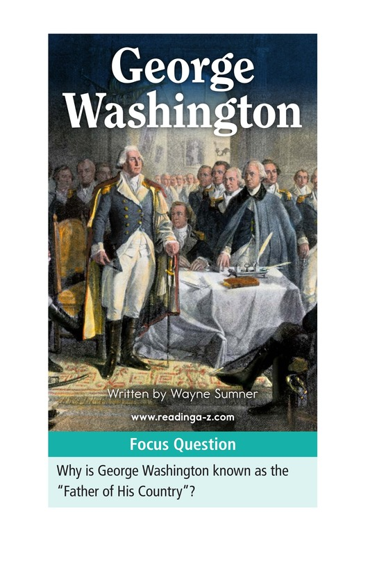 Book Preview For George Washington Page 1