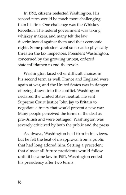 Book Preview For George Washington Page 16