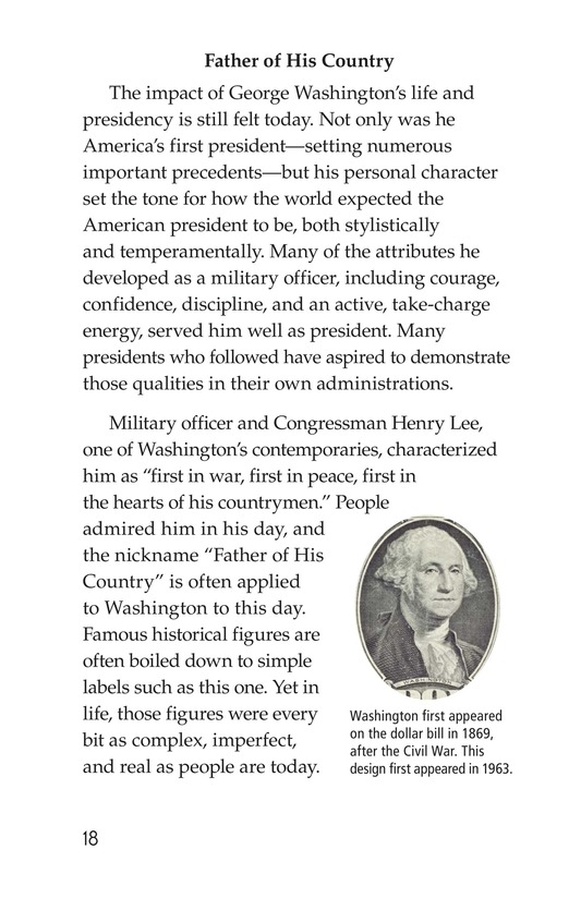 Book Preview For George Washington Page 18