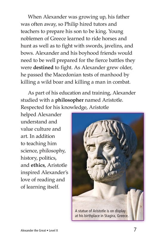 Book Preview For Alexander the Great Page 7
