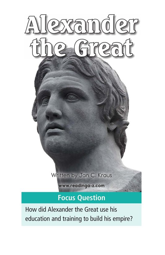 Book Preview For Alexander the Great Page 1
