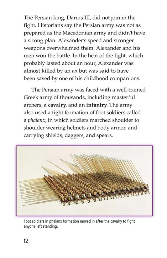Book Preview For Alexander the Great Page 12
