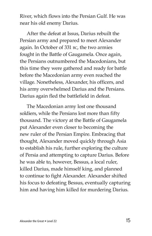 Book Preview For Alexander the Great Page 15