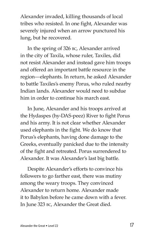 Book Preview For Alexander the Great Page 17