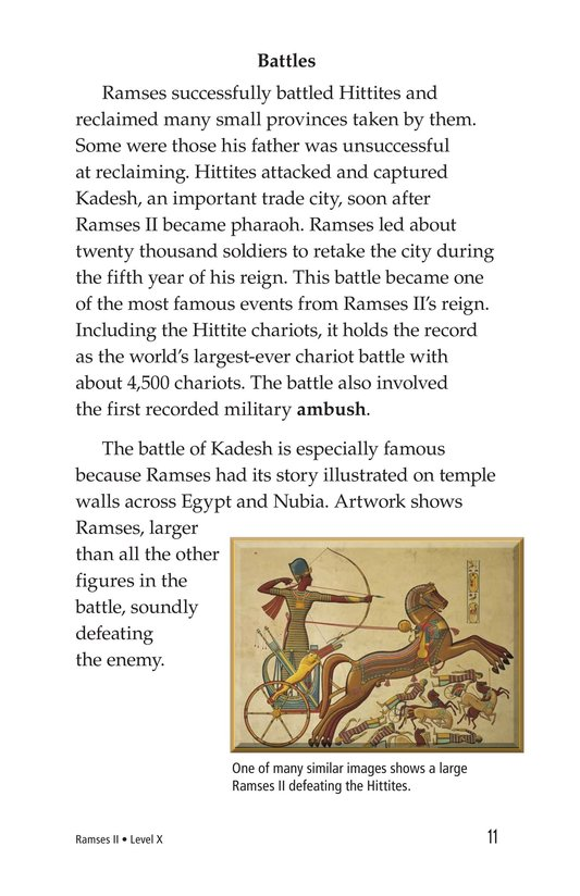 Book Preview For Ramses II Page 11