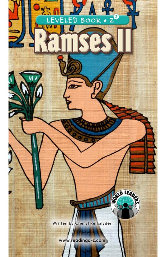 Book Preview For Ramses II Page 0