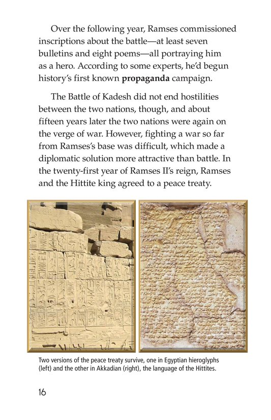 Book Preview For Ramses II Page 16