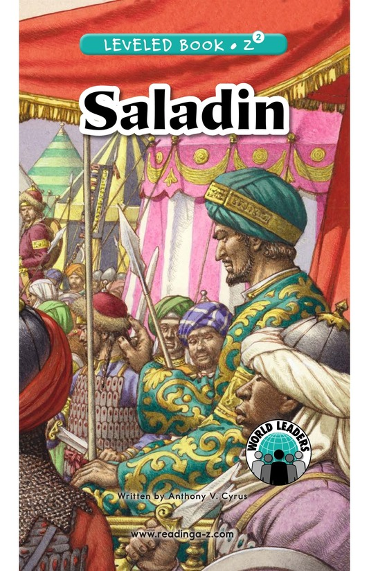 Book Preview For Saladin Page 0