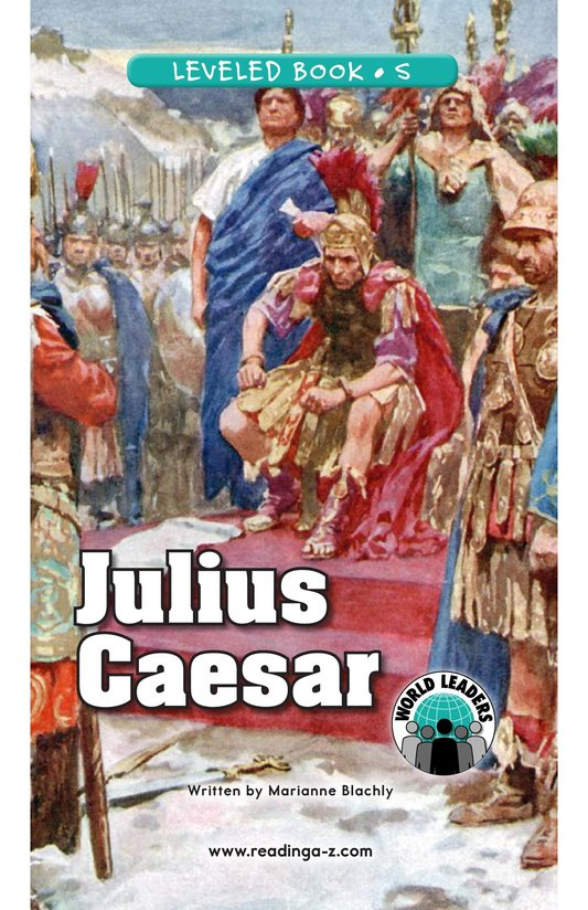 Book Preview For Julius Caesar Page 0