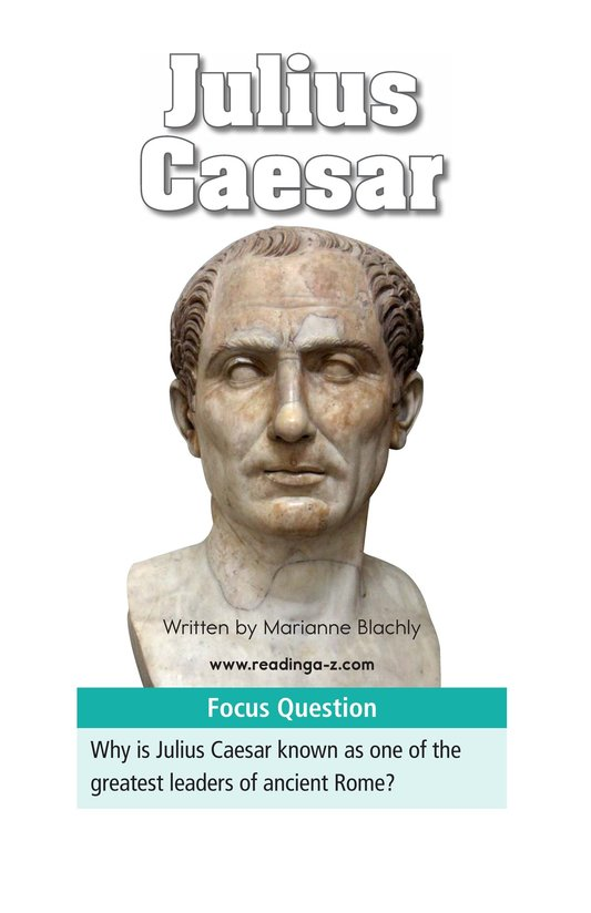 Book Preview For Julius Caesar Page 1