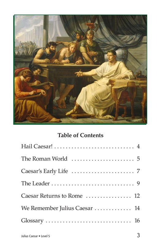 Book Preview For Julius Caesar Page 3