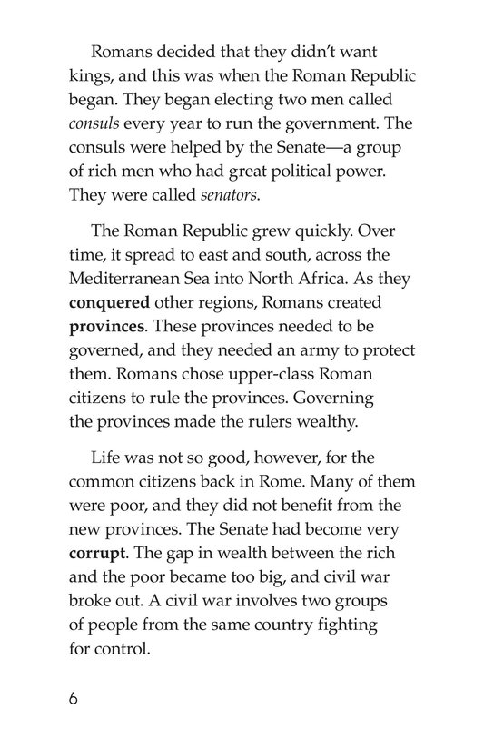 Book Preview For Julius Caesar Page 6