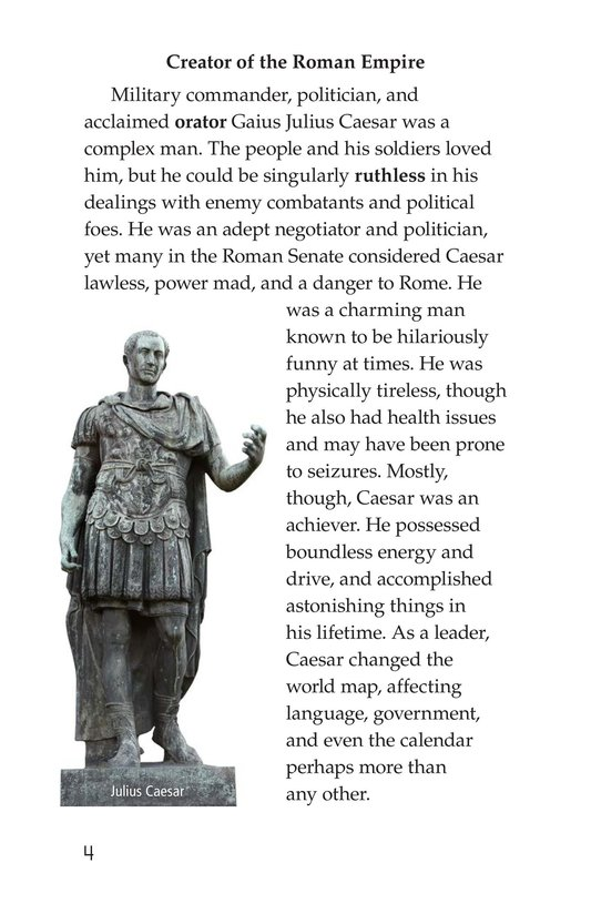 Book Preview For Julius Caesar Page 4
