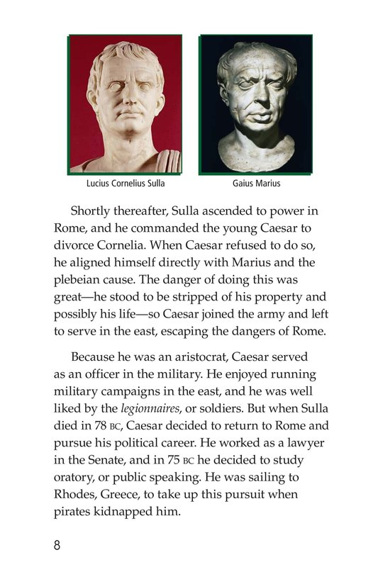 Book Preview For Julius Caesar Page 8