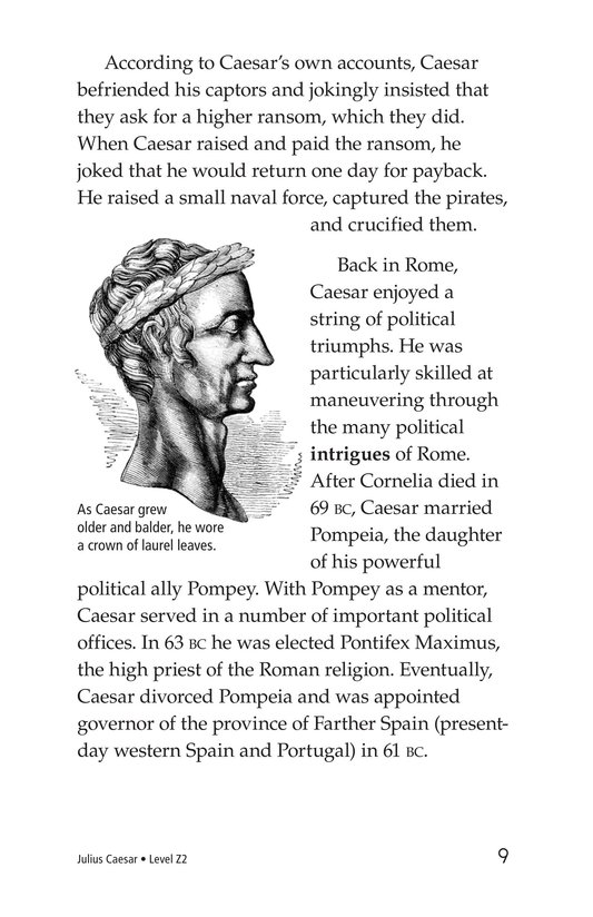 Book Preview For Julius Caesar Page 9