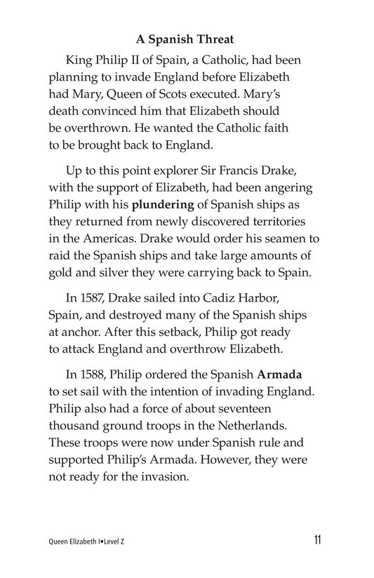 Book Preview For Queen Elizabeth I Page 11