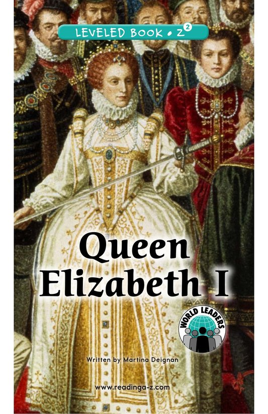 Book Preview For Queen Elizabeth I Page 0