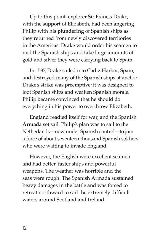 Book Preview For Queen Elizabeth I Page 12