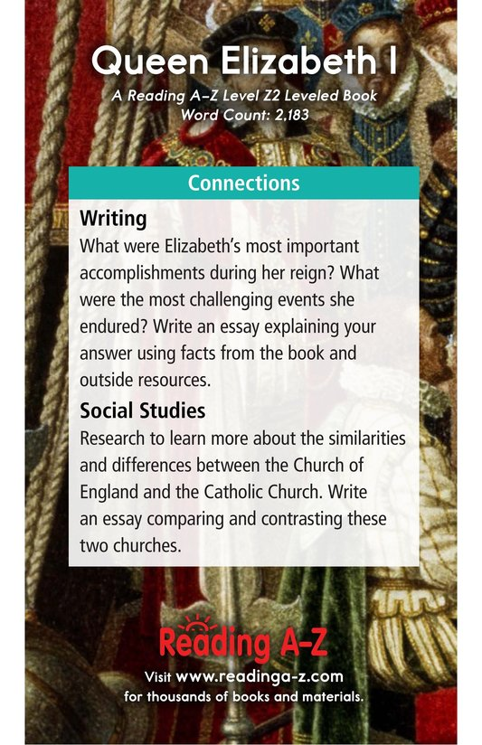 Book Preview For Queen Elizabeth I Page 21