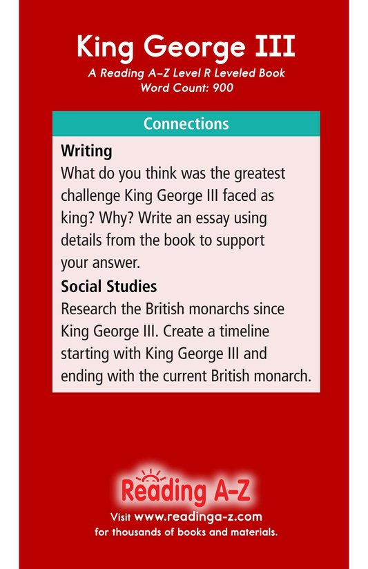 Book Preview For King George III Page 17