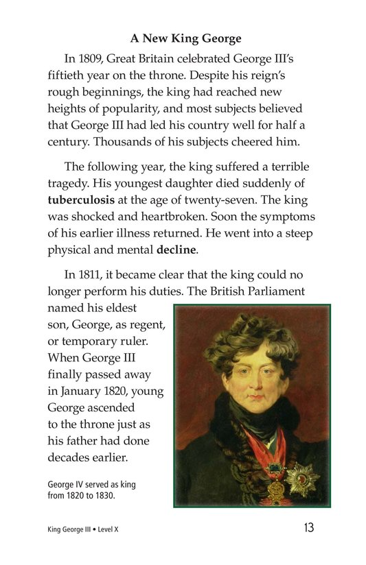 Book Preview For King George III Page 13