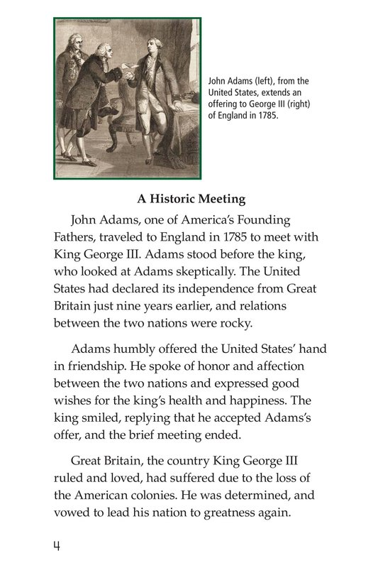 Book Preview For King George III Page 4