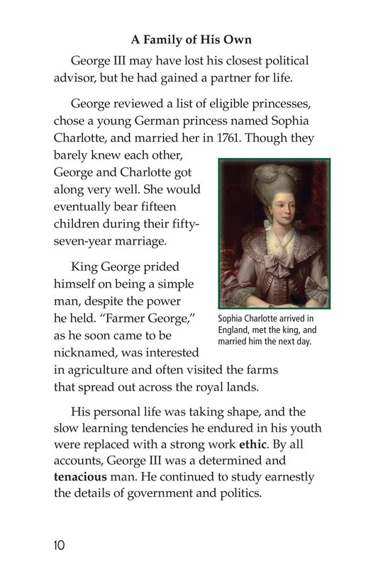Book Preview For King George III Page 10