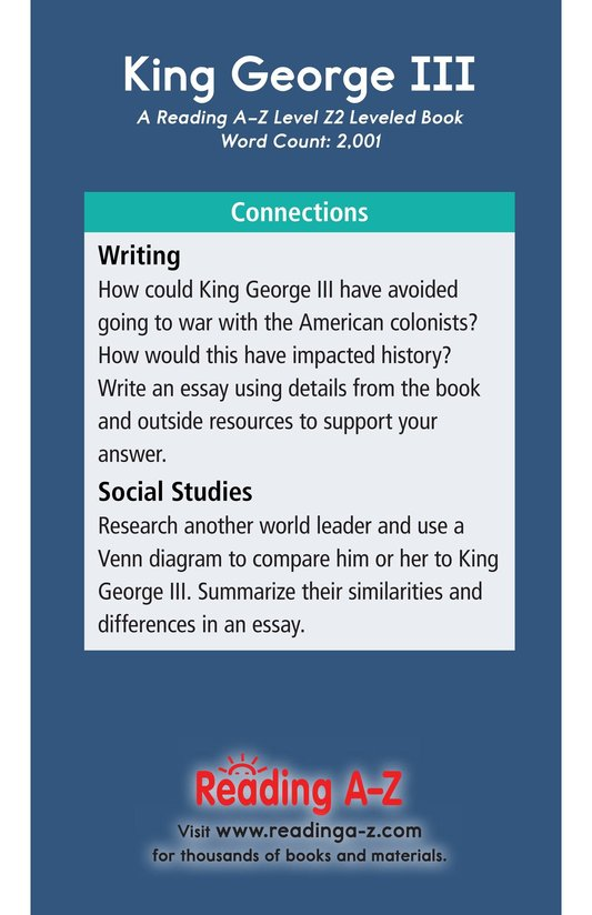 Book Preview For King George III Page 21