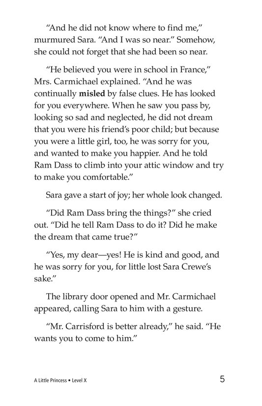 Book Preview For A Little Princess (Part 21) Page 5
