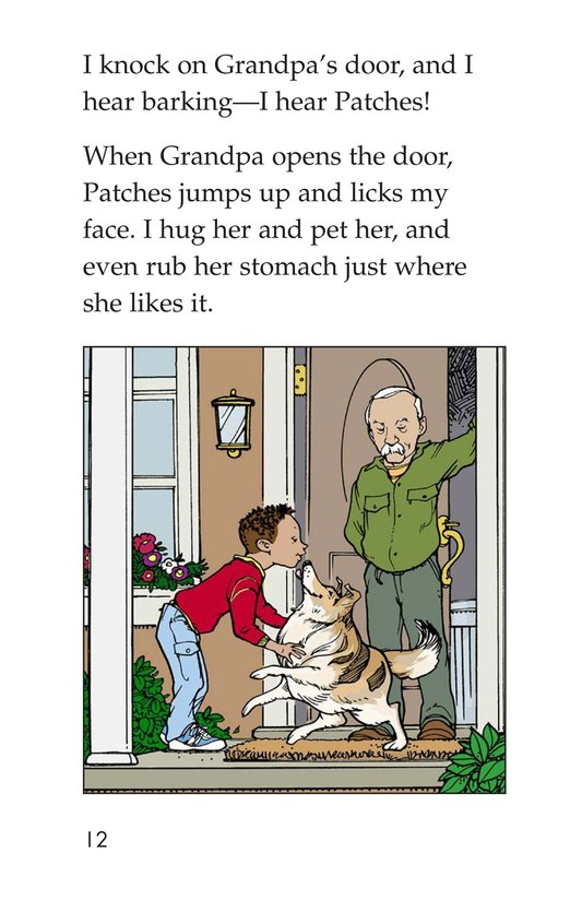 Book Preview For Marcus Loses Patches Page 12