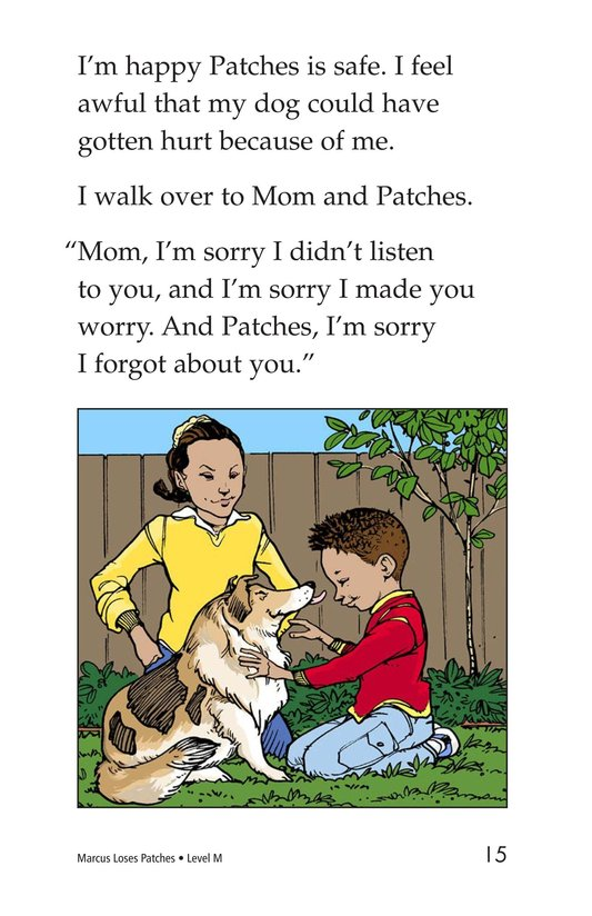 Book Preview For Marcus Loses Patches Page 15