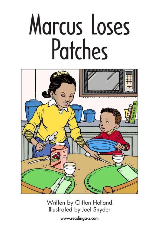 Book Preview For Marcus Loses Patches Page 2