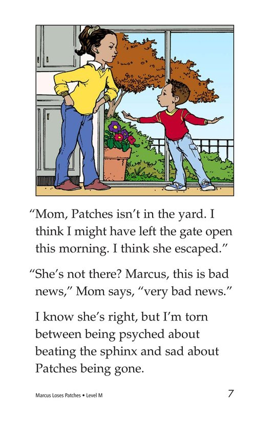 Book Preview For Marcus Loses Patches Page 7