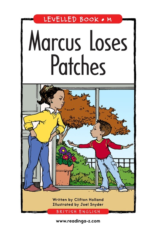 Book Preview For Marcus Loses Patches Page 1