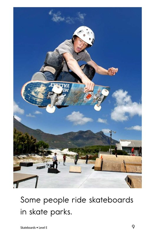 Book Preview For Skateboards Page 9
