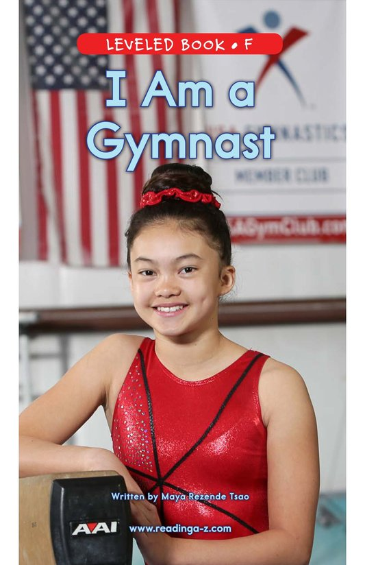 Book Preview For I Am a Gymnast Page 0