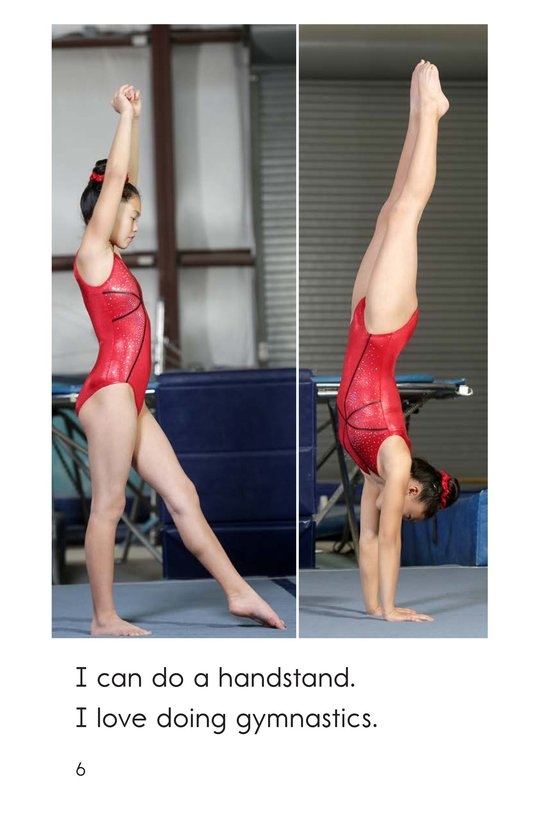 Book Preview For I Am a Gymnast Page 6