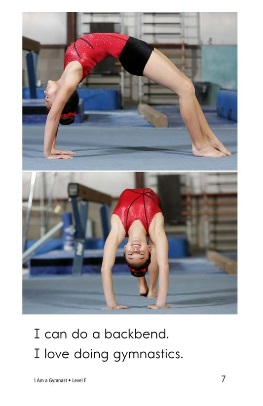 Book Preview For I Am a Gymnast Page 7