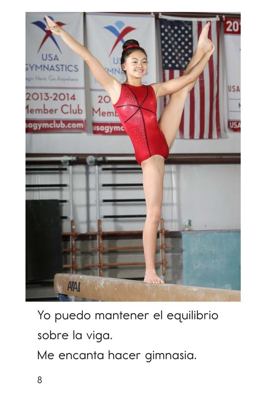 Book Preview For I Am a Gymnast Page 8