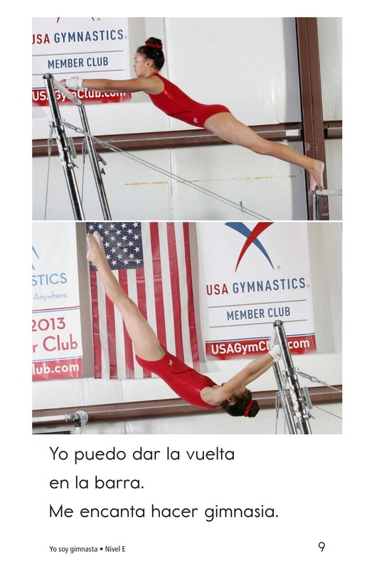 Book Preview For I Am a Gymnast Page 9