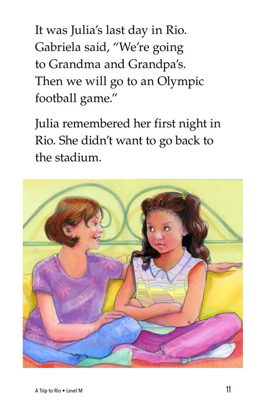 Book Preview For A Trip to Rio Page 11