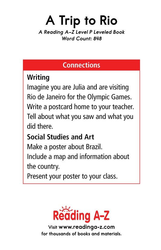 Book Preview For A Trip to Rio Page 17